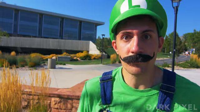 Super Mario'yu Gerçek Hayata Uyarladılar!