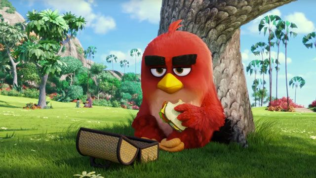 Angry Birds Filminin Fragmanı Gelmiştir!