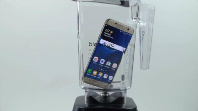 Samsung Galaxy S7 Edge'i Blenderdan Geçirirseniz Ne Olur?