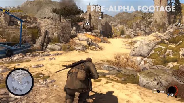 Sniper Elite 4 Uzun Oynanış Videosu