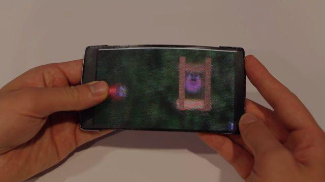 Tamamen Esnek, Hologram Ekrana Sahip Telefon