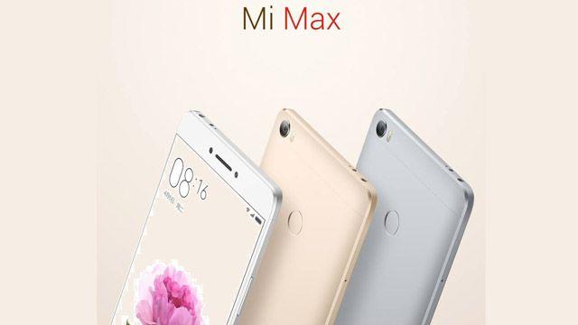 Xiaomi Mi Max Tanıtıldı