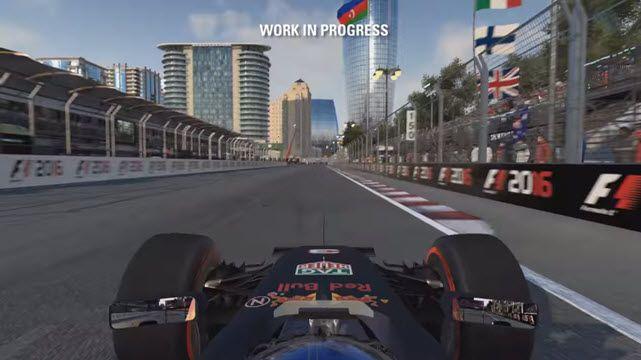 F1 2016 Oynanış Videosu