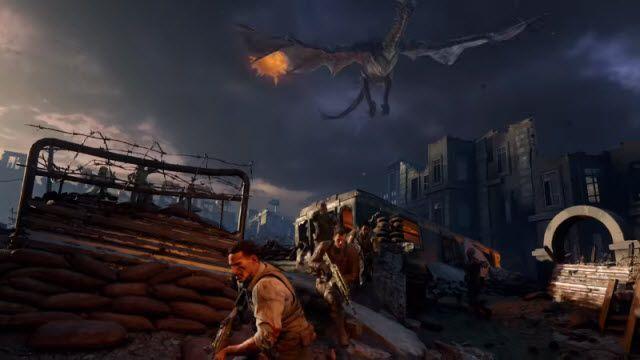 Call of Duty: Black Ops 3'te Alev Saçan Ejderhalar Şov Yapacak!