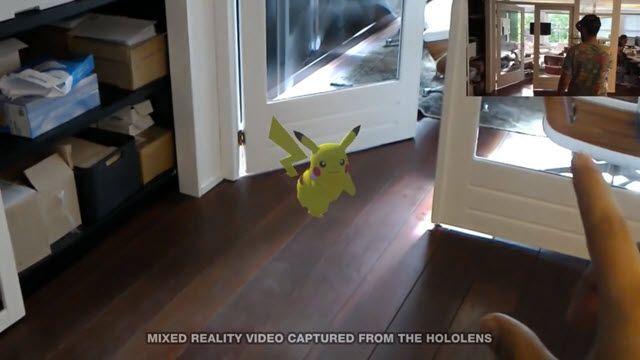 Microsoft HoloLens ile Pokemon GO Mucizesi!