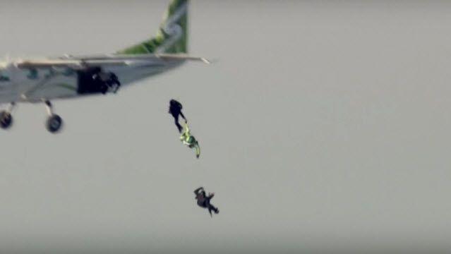 7.5 km Yüksekten Paraşütsüz Atlayarak Hayatta Kalan Adam