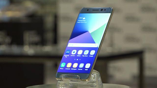 Galaxy Note 7'nin Tasarımına Yakından Bakış