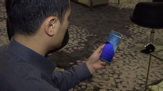 Galaxy Note 7'nin İris Tarayıcısı Nasıl Çalışıyor?