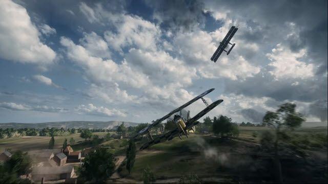 Battlefield 1'deki Uçaklar ve Tanklara Yakından Bakış