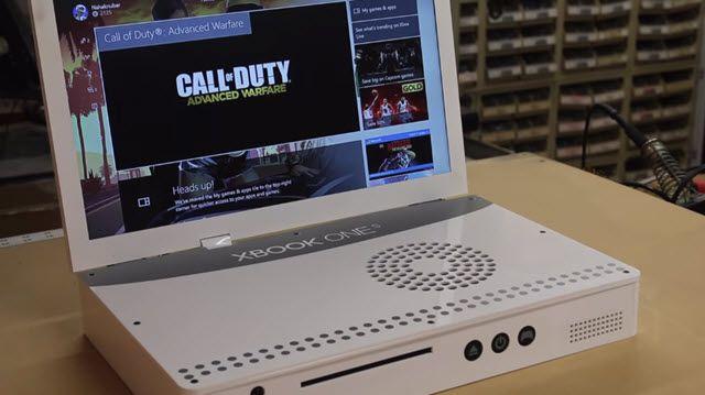 Xbox One S'i Laptopa Dönüştürdüler!