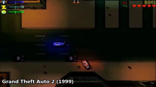 1997'den İtibaren GTA Serisinin Evrimi
