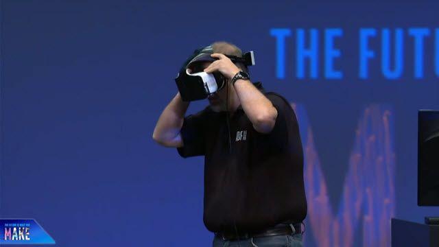 Intel'in Kablosuz Sanal Gerçeklik Sistemi Project Alloy