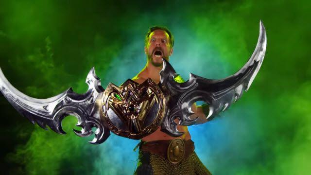 Warcraft'taki Illidan'ın Efsane Silahının Gerçeği Yapıldı