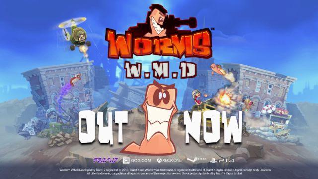 Müjde! Efsanevi Worms Serisinin Yeni Oyunu Worms W.M.D Çıktı!