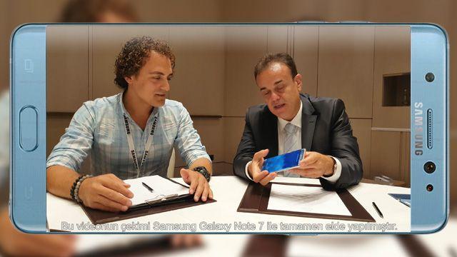 Samsung Galaxy Note 7'yi Tansu YEĞEN'e Sorduk! (4K)