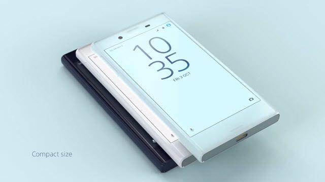 Sony Xperia X Compact'ın Tasarımına Yakından Bakış