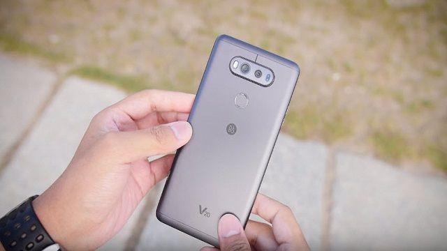 LG V20'nin Sağlamlık Testi Yapıldı