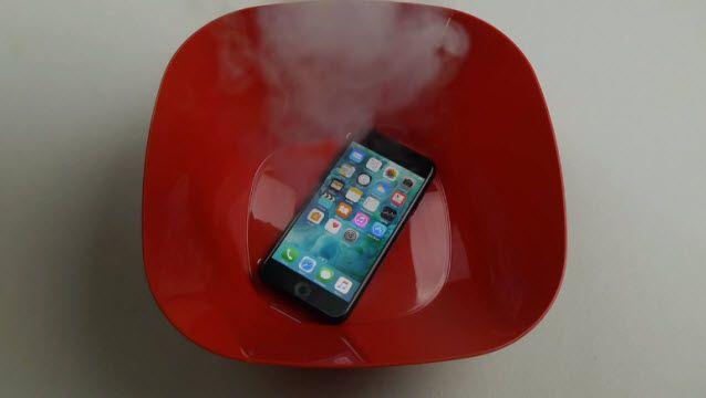 iPhone 7 Sıvı Nitrojene Dayanabilir mi?