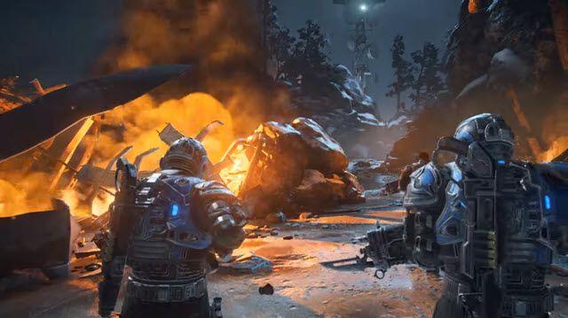 Gears of War 4 İlk 20 Dakika