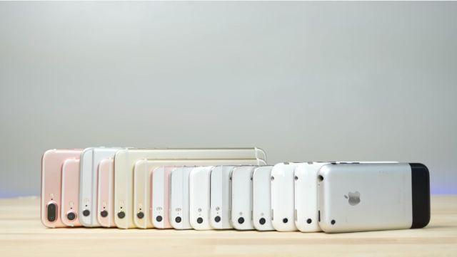 iPhone 7'nin Bütün Önceki iPhone Modelleriyle Hız Karşılaştırması