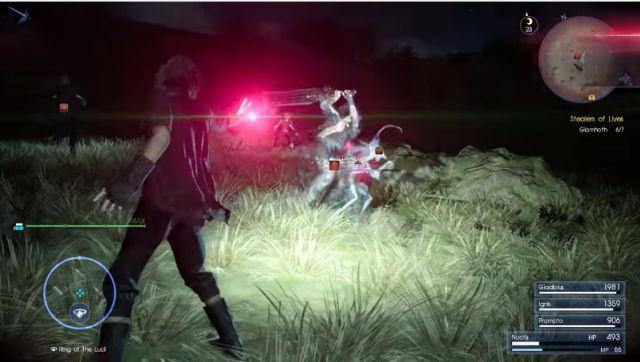 Final Fantasy 15'ten Etkileyici Bir Oynanış Videosu