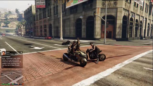 GTA 5 Bikers DLC Oynanış Videosu