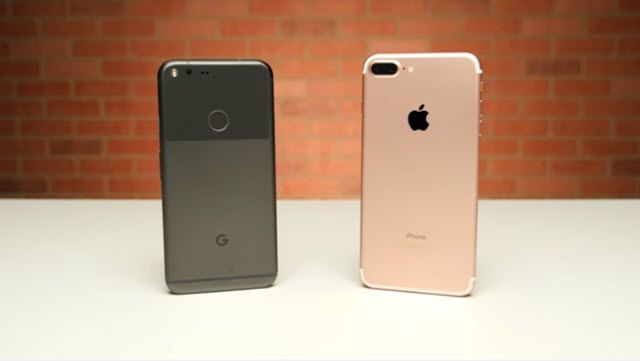 Google Pixel XL ve iPhone 7 Plus Hız Karşılaştırması
