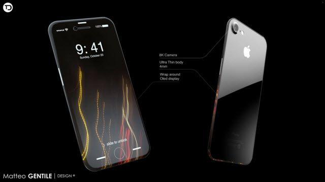 Göz Kamaştıran iPhone 8 Tasarımı