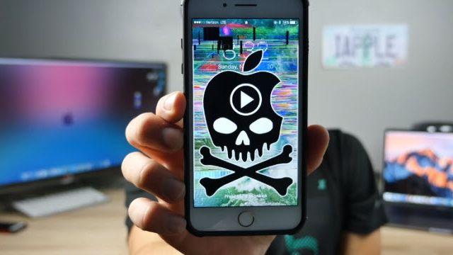 Bu Video Bütün iPhone'ları Kilitliyor!
