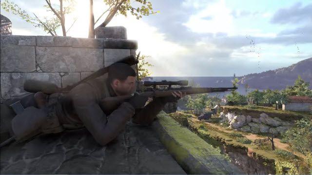 Sniper Elite 4 Heyecan Verici Görünüyor!