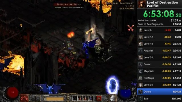 Diablo 2'yi Savaşmayıp Sevişerek Bitirdi!