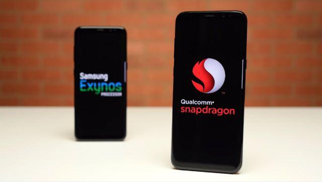 Exynos'lu Galaxy S8 ve Snapdragon'lu Galaxy S8 Hız Karşılaştırması