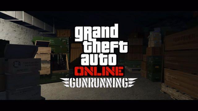 GTA Online Gunrunning Duyuru Videosu