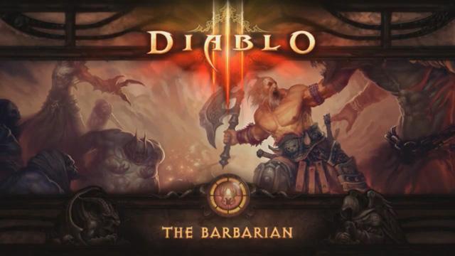 Diablo 3 Barbarian Karakter Fragmanı