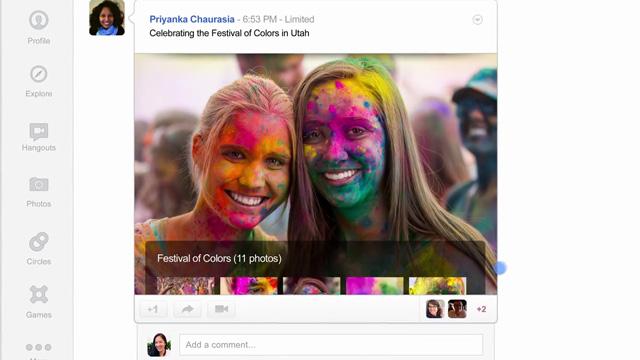 Google+ Tasarım Değiştirdi