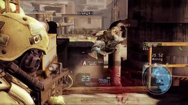 Ghost Recon: Future Soldier Multiplayer Oynanış Videosu