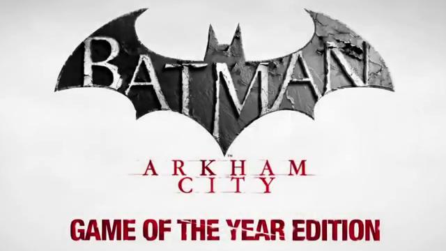 Batman: Arkham City Goty Edition Videosu