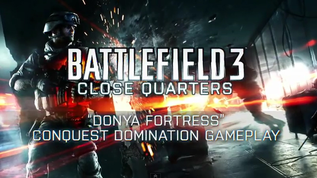 Battlefield 3 Close Quarters: Donya Fortress Haritası
