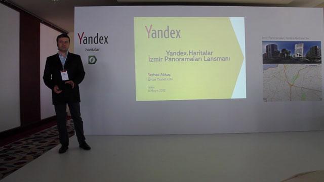 Yandex.Haritalar İzmir Panoramaları Lansmanı