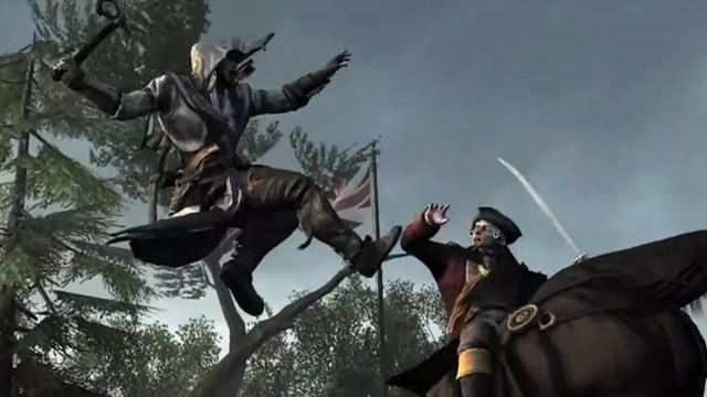 Assassin's Creed 3 Yeni Oynanış Videosu