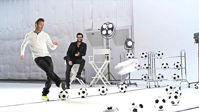 David Beckham Samsung Galaxy Note Reklamında