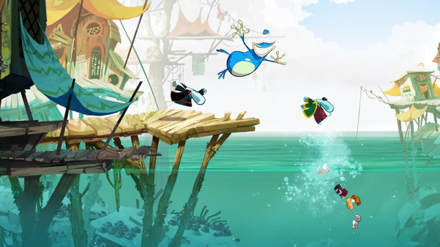 Rayman Legends - Wii U Oynanış Videosu