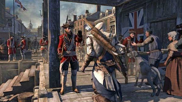 Assassin's Creed 3 - Boston Massacre Oynanış Videosu