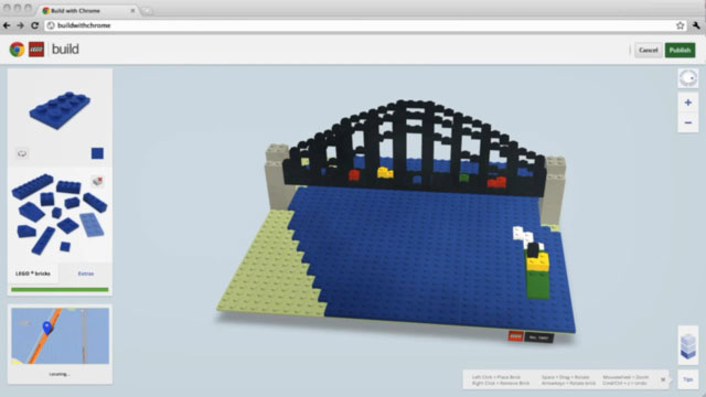 Google Chrome ile Lego Keyfini Yaşayın