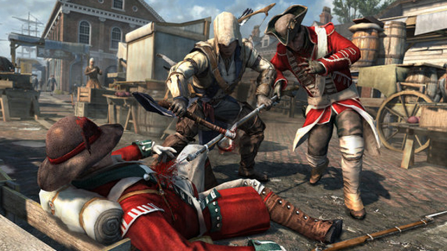 Assassin's Creed 3 - Boston Demo Oynanış Videosu