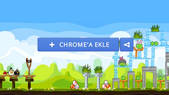 Google Chrome'a Oyun Eklentileri Yükleme