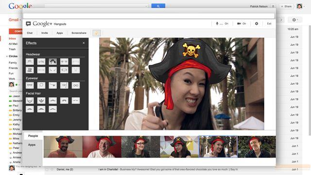 Gmail ile Hangout