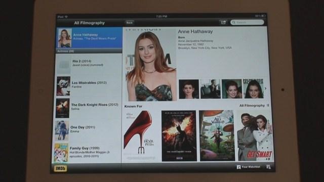 iPhone ve iPad İçin IMDb Uygulaması Tanıtımı