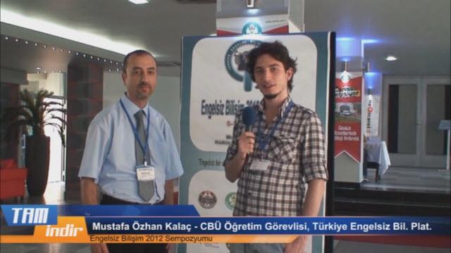 Engelsiz Bilişim Platformu'ndan Mustafa Özhan Kalaç ile Ropörtajımız