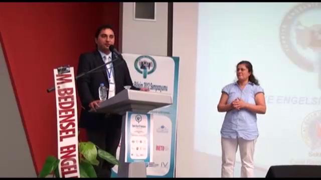 Engelsiz Bilişim 2012 Sempozyumu İşitme Engelliler ve Bilişim